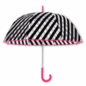 kate spade new york� Umbrella Black Stripe
