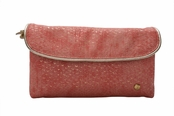 Laguna Coral Essentials Collection Katie Folding Cosmetic Case by Stephanie Johnson