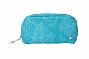 Laguna Turquoise Collection Mini Pouch by Stephanie Johnson