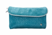 Laguna Turquoise Essentials Collection Katie Folding Cosmetic Case by Stephanie Johnson