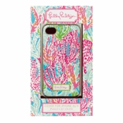 Lilly Pulitzer iPhone 4/4S Case - Lets Cha Cha
