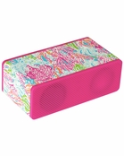 Lilly Pulitzer Wireless Bluetooth Speaker - Let's Cha Cha