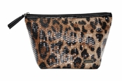 Nile Collection Laura Large Trapezoid Cosmetic Case by Stephanie Johnson