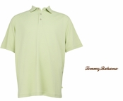 Pale Green Tea Superfecta Stripe Polo by Tommy Bahama