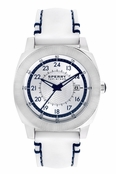 Sperry Top-Sider Men's Drifter White Silicone Band Watch