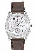 Sperry Top-Sider Men's Mariner Chronograph Brown Leather Band Watch
