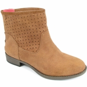 Tan Leah Ankle Boots by Lindsay Phillips