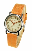 TOKYObay Orange Anna Watch for Women