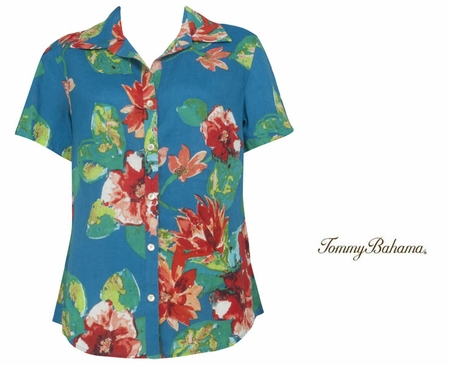 Tommy Bahama Womens Tops