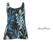 Watercolor Palmetos Tank by Tommy Bahama