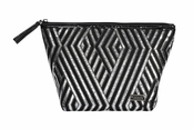Wilshire Collection Laura Large Trapezoid Cosmetic Case by Stephanie Johnson