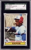 Andre Dawson SGC Certified Authentic Autograph - 1979 Topps