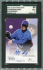 Anthony Rizzo SGC Certified Authentic Autograph - 2011 Just Spotlights Purple #1/10