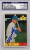 Billy Williams Rookie PSA/DNA Certified Authentic Autograph - 1961 Topps #141