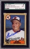 Earl Weaver SGC Certified Authentic Autograph - 1987 Topps