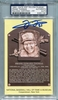 Frank Thomas PSA/DNA Certified Authentic Autograph - Hall of Fame Plaque Postcard