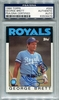 George Brett PSA/DNA Certified Authentic Autograph - 1986 Topps