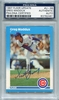 Greg Maddux Rookie PSA/DNA Certified Authentic Autograph - 1987 Fleer Update