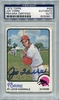 Joe Torre PSA/DNA Certified Authentic Autograph - 1973 Topps