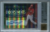 Ken Griffey Jr. BGS Certified Authentic Autograph - 2006 UD Special F/X