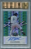 Kyle Schwarber Rookie BGS Certified Autograph - 2014 Leaf Valiant Draft - BGS 10 Pristine
