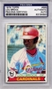 Lou Brock PSA/DNA Certified Authentic Autograph - 1979 Topps