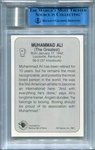 Muhammad Ali BGS/JSA Certified Authentic Autograph - 1991 All World #44