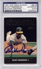Rickey Henderson PSA/DNA Certified Authentic Autograph - 1991 Leaf