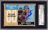 Ron Santo SGC Certified Authentic Autograph - 1968 Topps All Star