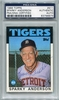 Sparky Anderson PSA/DNA Certified Authentic Autograph - 1986 Topps