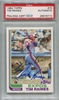 """Tim """"Rock"""" Raines PSA/DNA Certified Authentic Autograph - 1982 Topps"""