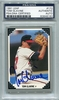 Tom Glavine PSA/DNA Certified Authentic Autograph - 1991 Leaf