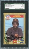 Tony Gwynn SGC Certified Authentic Autograph - 1987 Topps