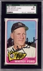 Whitey Ford SGC Certified Authentic Autograph - 1965 Topps