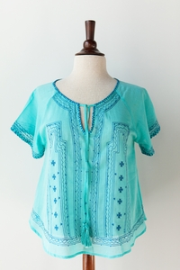 Eliora Top blue