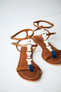 NEW Beaded Sandal
