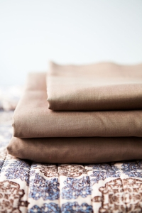 NEW Castaway Cotton Linen Sheet Set