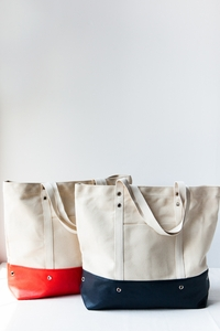 Dipped Canvas Tote