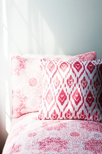NEW Harbour Island Quilt Set coral