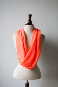 NEW Neon Scarf in Orange