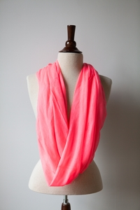 NEW Neon Scarf in Pink