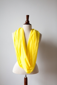 Neon Scarf in Yellow