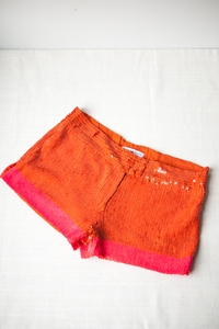 Sequined Microshorts
