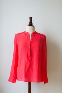 Shirt Tunic in Teaberry