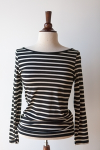 Striped Layering Top