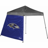 Baltimore Ravens 10' x 10' Straight Leg Canopy Wall