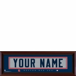 Boston Red Sox Personalized Stitched Jersey Print