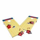 Buffalo Bills NFL XL Bean Bag Toss Corn Hole Game - Platinum Edition