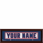 Chicago Cubs Personalized Stitched Jersey Print