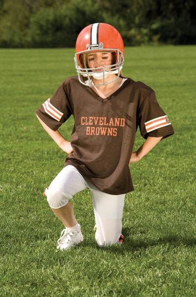 Youth Cleveland Browns 6 Brian Hoyer Brown Team Color Jersey